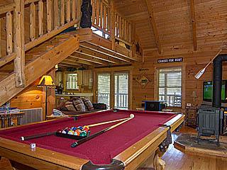 Bearskin Memories Cabin, Country Dreams Luxury Cabin 1 Bedroom